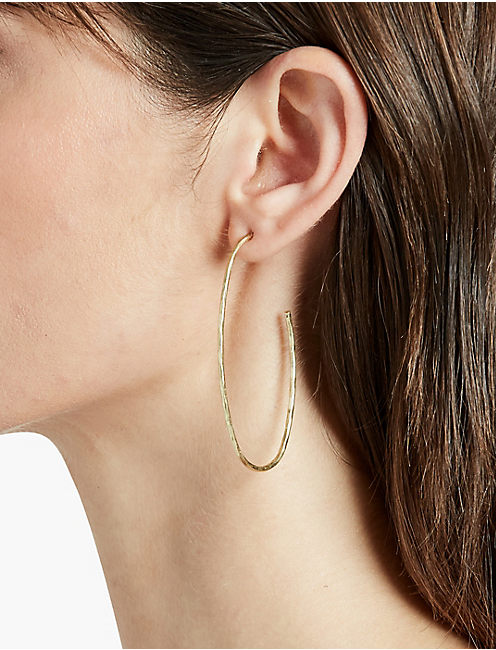LUCKY GOLD THIN HOOP