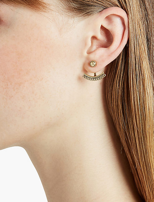 Lucky Gold Openwork Ear Jacket