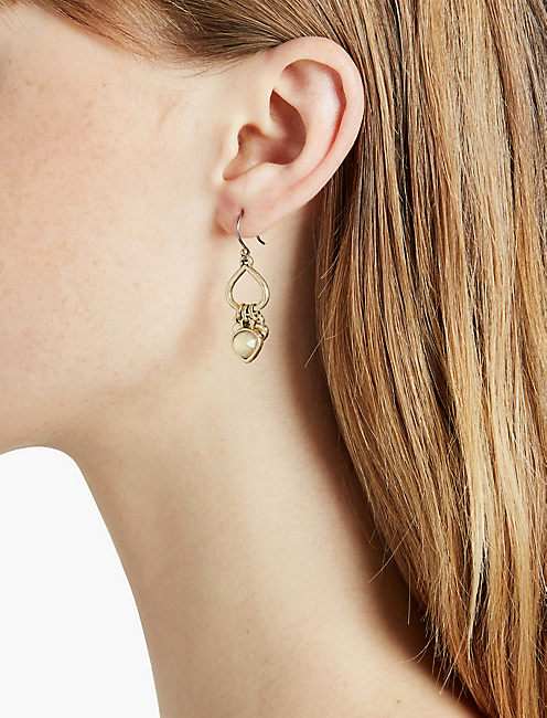 LUCKY GOLD DROP EARRING