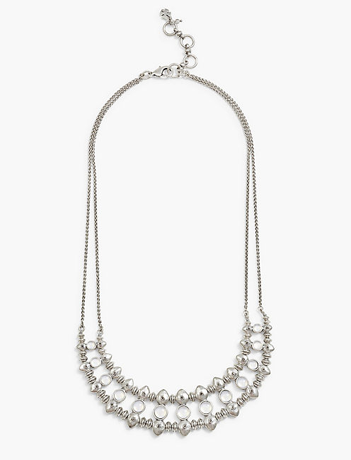 MOONSTONE COLLAR NECK,