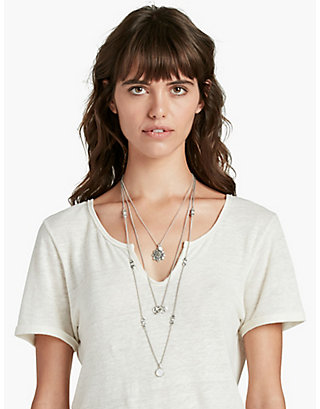 LUCKY MOONSTONE LUCKY LAYER CHARM NECK