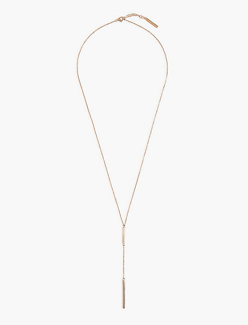 ROSE GOLD Y NECKLACE,