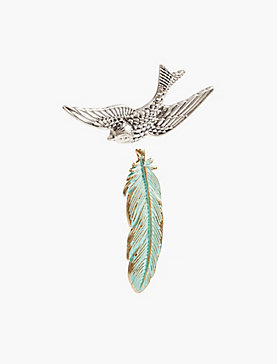 BIRDS OF A FEATHER PIN