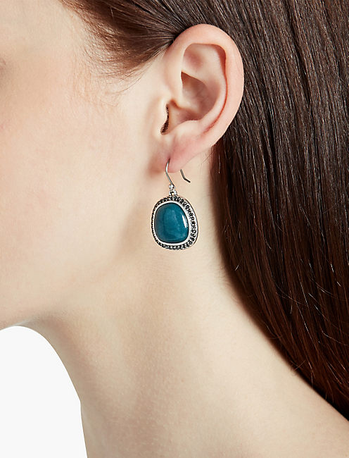 Lucky Jade Simple Drop Earring