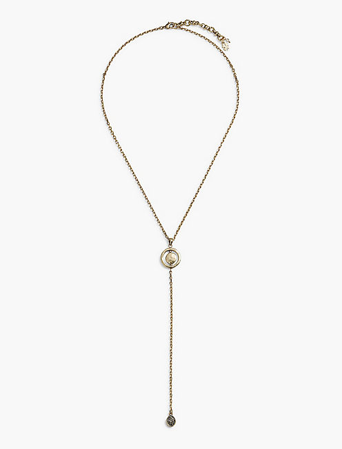 ORBITAL LARIAT NECKLACE,
