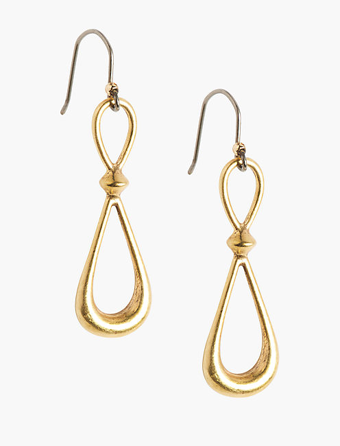 HOOP DROP EARRING,