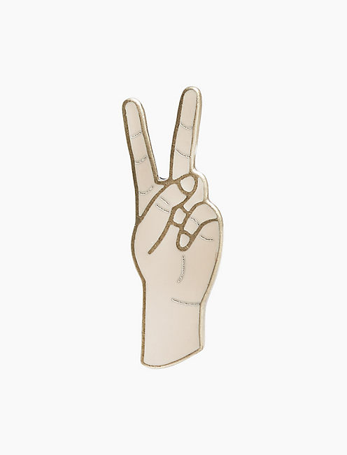 PEACE SIGN PIN,