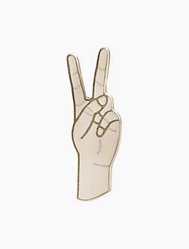 PEACE SIGN PIN