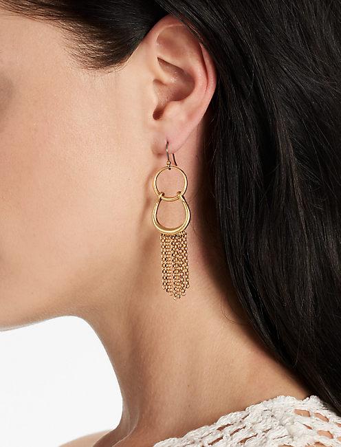 Lucky Fringe Earring