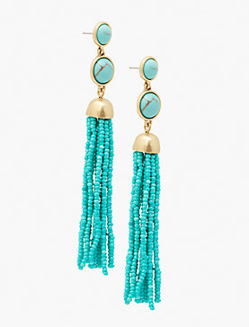 SUPER TASSEL EARRING