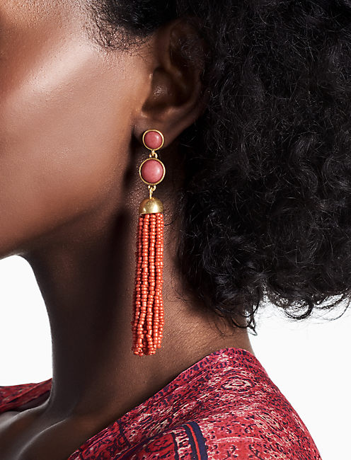 SUPER TASSEL EARRING,