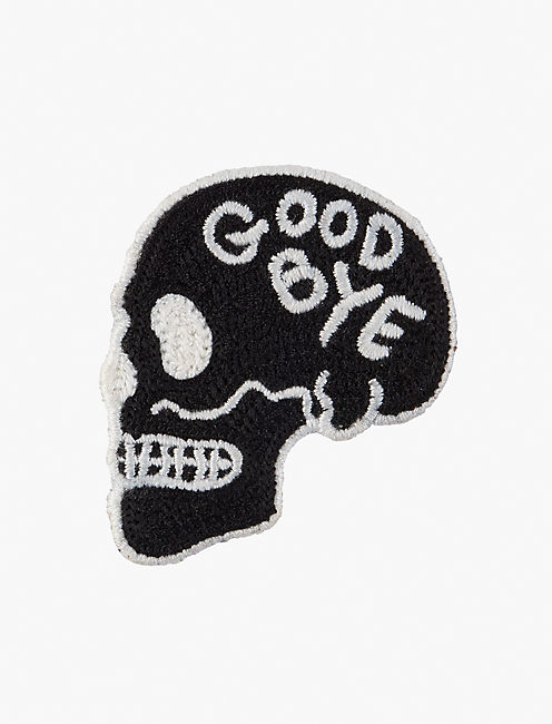 Lot, Stock And Barrel GOODBYE SKULL PATCH,