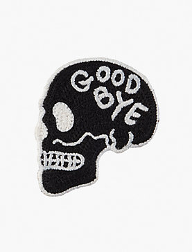 Lot Stock and Barrel GOODBYE SKULL PATCH
