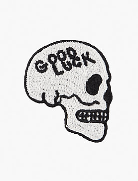 Lot, Stock And Barrel GOODLUCK SKULL PATCH