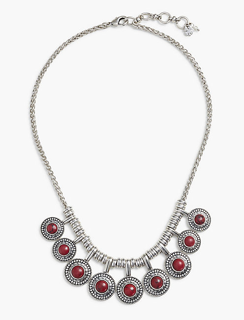 RED COLLAR NECKLACE,