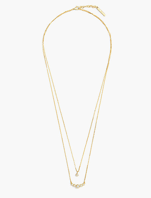 DOUBLE LAYER NECKLACE,