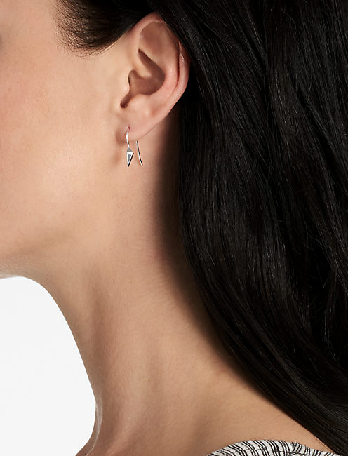 Lucky Delicate Triangle Earring