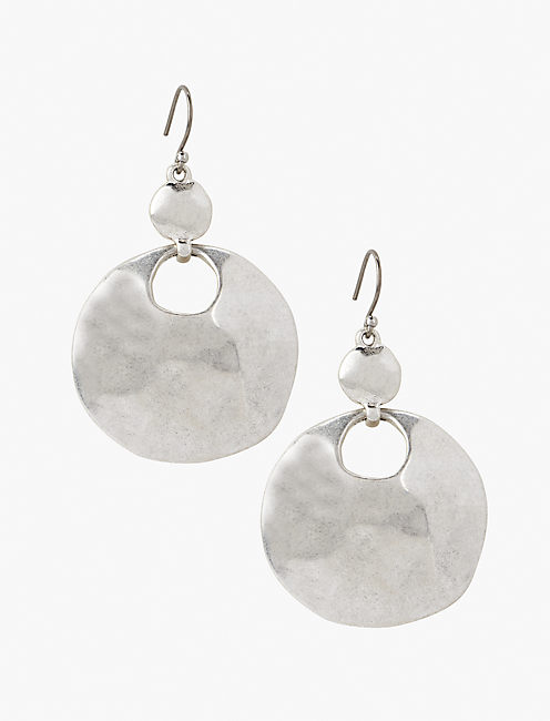 ORGANIC DROP EARRING,