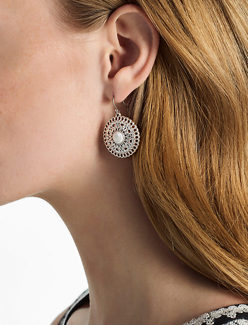 Lucky Openwork Drop Earring