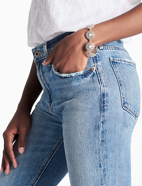 Lucky Pearl Link Bracelet