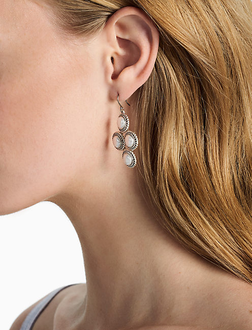 Lucky Pearl Chandelier Earring