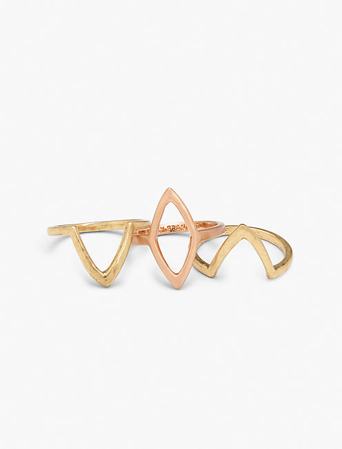 PETAL STACK RING, MULTI