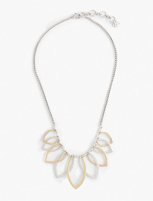 PETAL COLLAR NECKLACE,