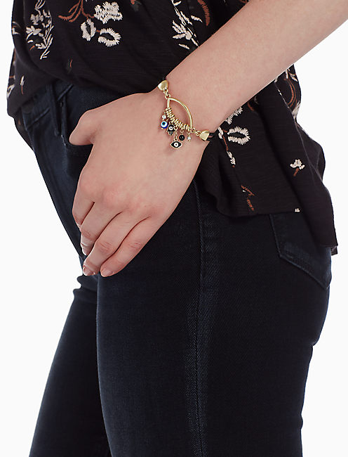 Lucky Hamsa Charm Bracelet