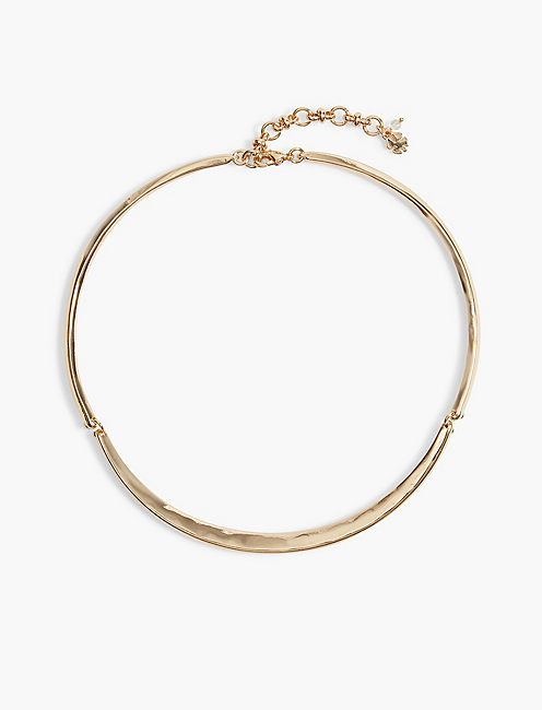 GOLD HINGED CHOKER,