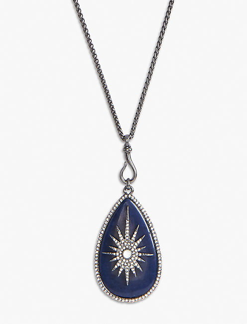 STARDUST PENDANT NECKLACE,
