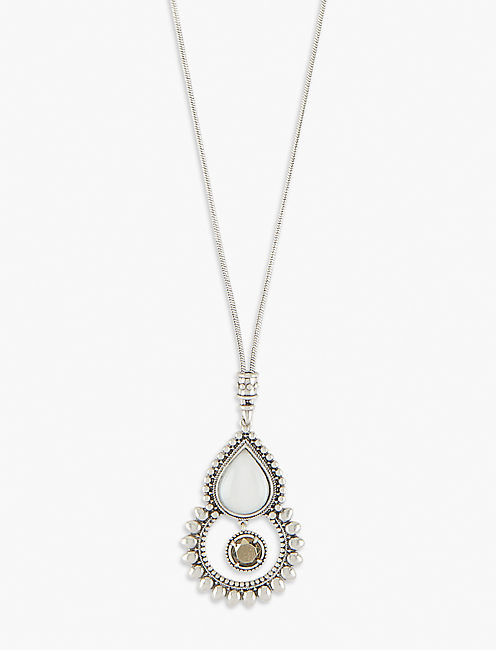 TRIBAL PENDANT NECKLACE,