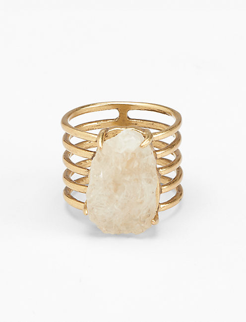 DRUZY MULTI BAND RING,