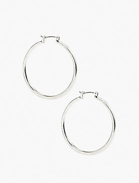 BASIC HOOP EARRING