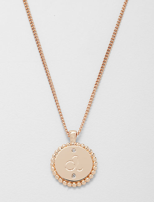 Small Leo Zodiac Necklace Lucky Brand