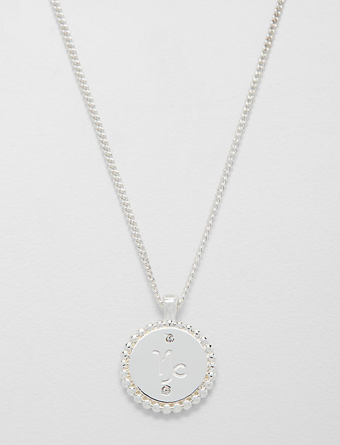 SMALL CAPRICORN ZODIAC NECKLACE,
