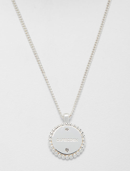 Lucky Small Capricorn Zodiac Necklace