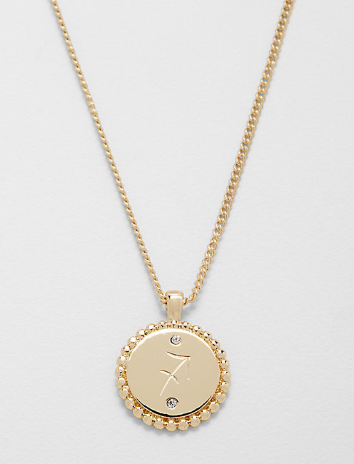 SMALL SAGITTARIUS ZODIAC NECKLACE,