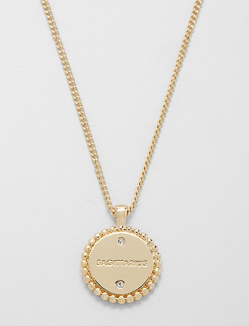 Lucky Small Sagittarius Zodiac Necklace