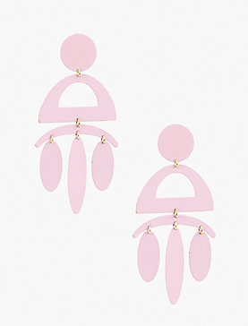 PAINTED BLUSH EARRING
