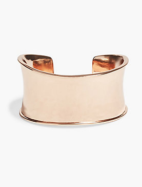 ROSE GOLD DRESSY CUFF
