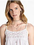 CHOKER AND LAYER NECKLACE,