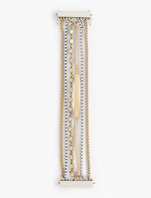TWO TONE LUCKY LAYER BRACELET,