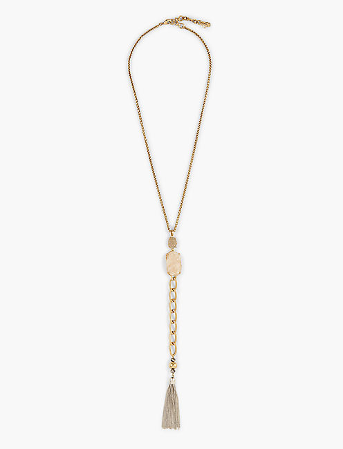 DRUZY CHAIN Y NECKLACE,