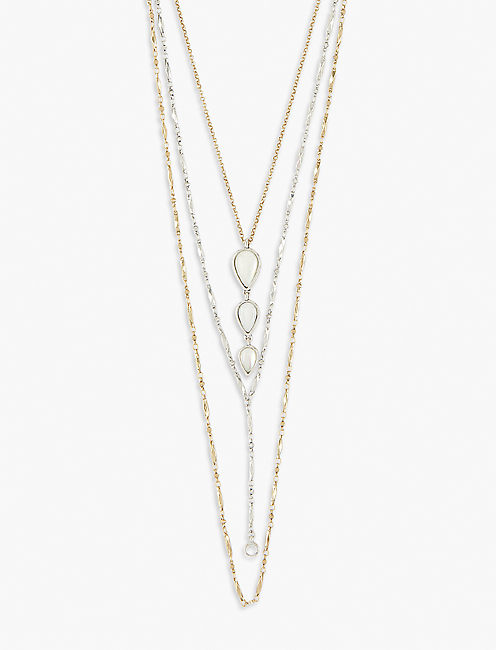 GEOMETRIC LAYER NECKLACE,