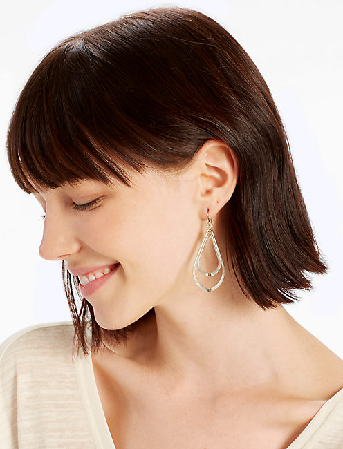 DOUBLE ORBITING EARRING,