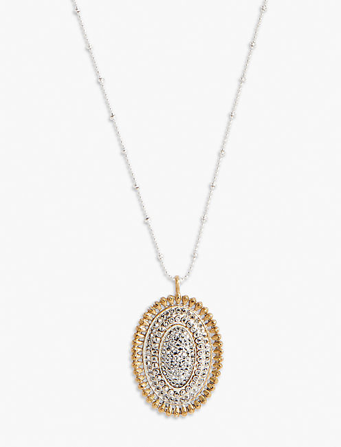 PAVE PENDANT NECKLACE,