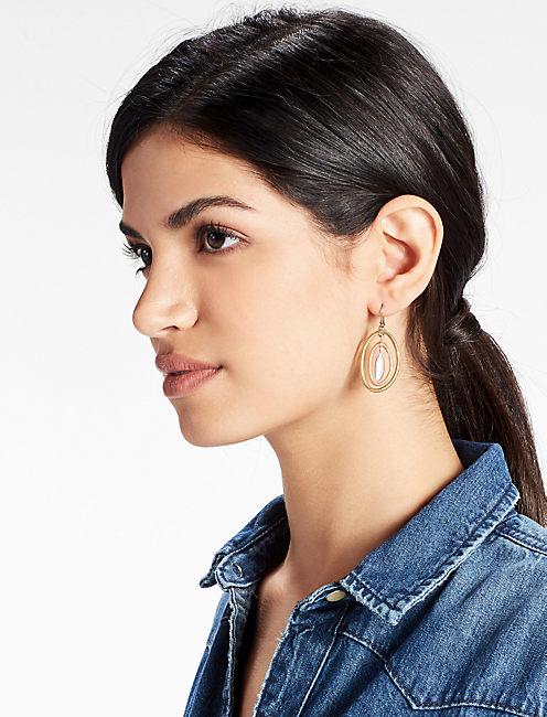 Lucky Tri-tone Orbital Earring