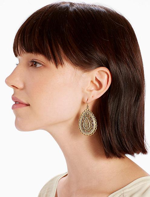 Lucky Openwork Earring