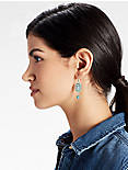 TURQUOISE BLOSSOM EARRING,