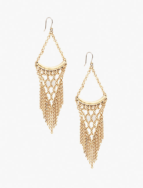 STATEMENT CHAIN EARRINGS,